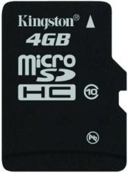 Kingston MicroSDHC 4GB Class 10 SDC10/4GBSP