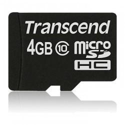 Transcend microSDHC 4GB Class 10 TS4GUSDC10
