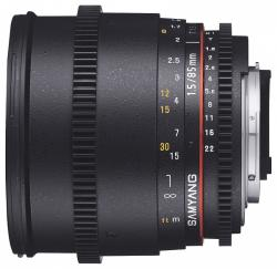 Samyang 85mm T1.5 AS IF UMC VDSLR II (Canon M)