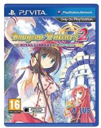 Atlus Dungeon Travelers 2 The Royal Library & The Monster Seal (PS Vita)