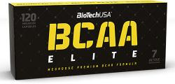 BioTechUSA BCAA Elite megadózisú kapszula (120db)