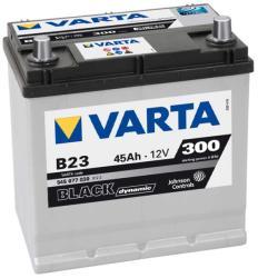 VARTA B23 Black Dynamic 45Ah 300A Jobb+ Ázsia (545 077 030)
