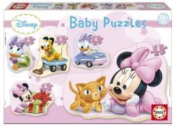 Educa Disney Baby Puzzles - Minnie 5 az 1-ben (15612)