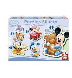 Educa Disney Baby Puzzle - Bébi Mickey és barátai 5 az 1-ben (13813)