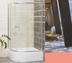 Favorit HEDO 115x90x180+16,5 cm zuhanytálcával