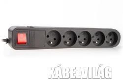 NATEC SP5 5 Plug 1,5m Switch (NSP-0475)