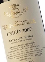 VEGA-SICILIA Unico 2007 (1,5L)