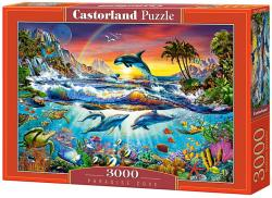 Castorland Paradise öböl 3000 db-os C-300396