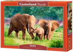 Castorland Elefántcsalád 500 db-os B-52196