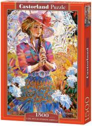 Castorland Lány csipke napernyővel 1500 db-os C-151363