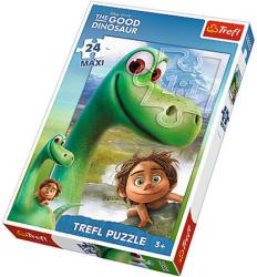 Trefl Maxi Puzzle - Dinó tesó - Arlo és Spot 24 db-os (14232)