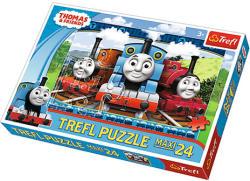 Trefl Maxi Puzzle - Thomas: Boldog mozdonyok 24 db-os (14231)