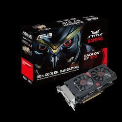 ASUS Radeon R7 370 2GB GDDR5 256bit PCIe (STRIX-R7370-DC2-2GD5-GAMING)