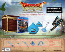 Square Enix Dragon Quest Heroes The World Tree's Woe and the Blight Below [Slime Collector's Edition] (PS4)