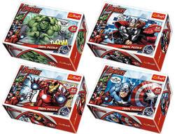 Trefl Bosszúállók Csapat 54 db-os mini puzzle (54140)