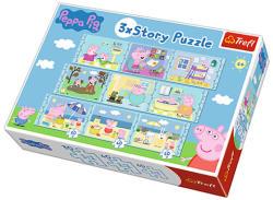 Trefl 3xStory Puzzle Peppa malac (90328)