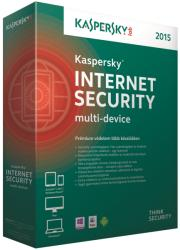 Kaspersky Internet Security 2015 Multi-Device Renewal (3 Device, 1 Year) KL1941OBCFR