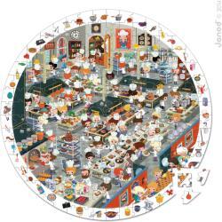 Janod Képkereső puzzle - Étterem 208 db-os (02794)