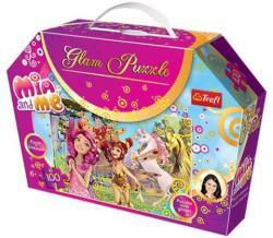 Trefl Glam Puzzle - Mia és én 100 db-os csillámos puzzle