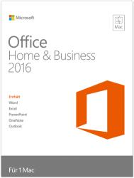 Microsoft Office 2016 Home & Business for Mac ENG W6F-00550
