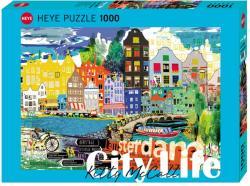 Heye City Life - I love Amsterdam 1000 db-os (29683)