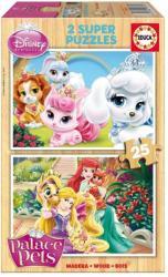 Educa Disney Palace Pets: Palota Kedvencek 2x25 db-os fa puzzle (16370)