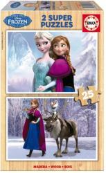 Educa Disney Jégvarázs 2x25 db-os fa puzzle