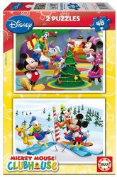 Educa Disney Mickey egér karácsonya 2x48 db-os