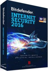 Bitdefender Internet Security 2016 (3 User, 1 Year) UB11031003