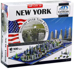 4D Cityscape 4D City Puzzle - New York
