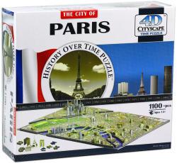 4D Cityscape 4D City Puzzle - Párizs