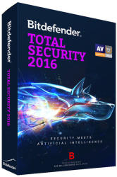 Bitdefender Total Security 2016 (1 User, 1 Year) UB11051001