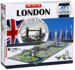 4D Cityscape 4D City Puzzle - London
