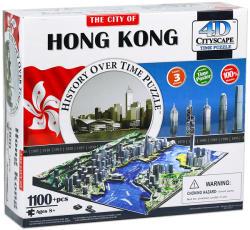 4D Cityscape 4D City Puzzle - Hong Kong