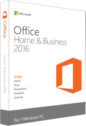Microsoft Office 2016 Home & Business for Win 32/64bit HUN T5D-02432