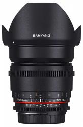Samyang 16mm T2.2 VDSLR ED AS UMC CS (FT)