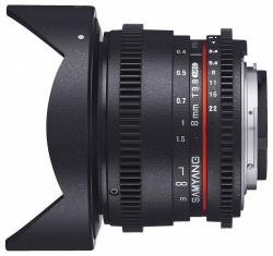 Samyang 8mm T3.8 VDSLR UMC Fish-eye CS II (Samsung)