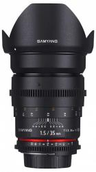 Samyang 35mm T1.5 VDSLR AS UMC II (MFT)