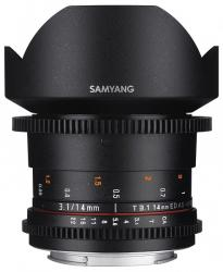 Samyang 14mm T3.1 VDSLR ED AS IF UMC II (MFT)