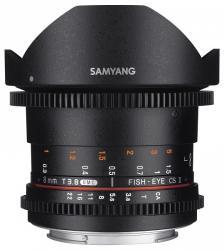 Samyang 8mm T3.8 VDSLR UMC Fish-eye CS (MFT)