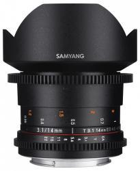 Samyang 14mm T3.1 VDSLR ED AS IF UMC II (Samsung)
