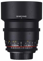 Samyang 85mm T1.5 VDSLR AS IF UMC II (FT)