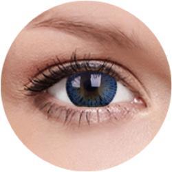 MAXVUE VISION Elegance - Blue - dioptria nélküli, negyedéves (2 db)