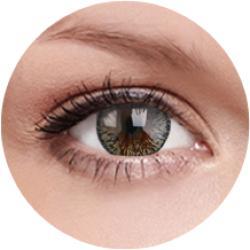 MAXVUE VISION Elegance - Brown - dioptria nélküli, negyedéves (2 db)