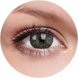 MAXVUE VISION Elegance - Gray - dioptria nélküli, negyedéves (2 db)