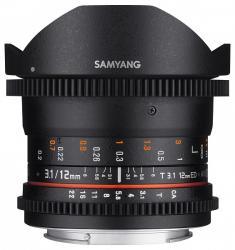 Samyang 12mm T3.1 VDSLR ED AS NCS Fish-eye (Canon M)