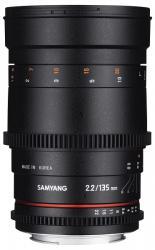Samyang 135mm T2.2 VDSLR ED UMC (Canon)
