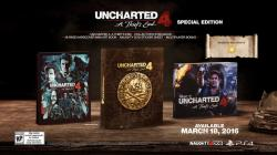 Sony Uncharted 4 A Thief's End [Special Edition] (PS4)