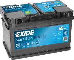 Exide ECM EL652 65Ah 650A Jobb+ (EL652)