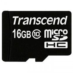 Transcend MicroSDHC 16GB Class 10 TS16GUSDC10